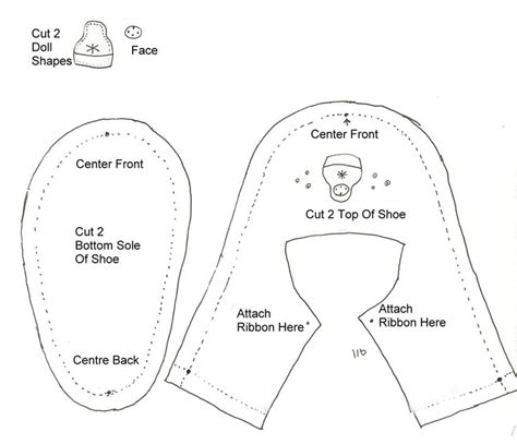 shoe pattern making pdf 875 best american girl shoe tutorials images on pinterest