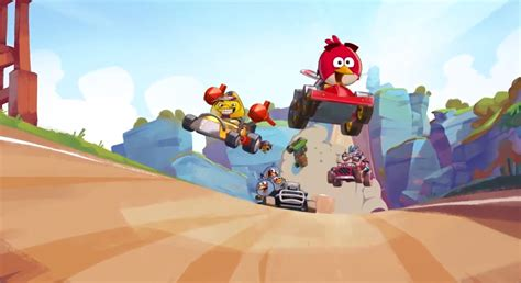 angry birds go wheels instead of slingshot casual box