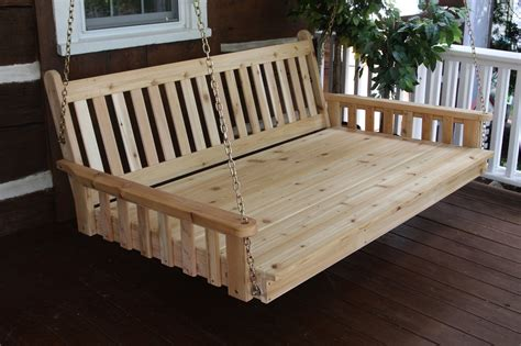 large porch swing bed a l furniture