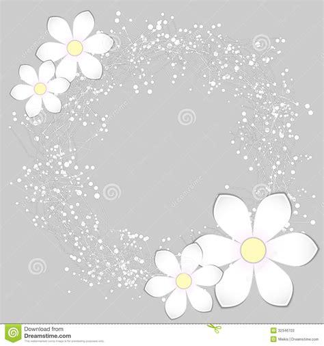 card background design white paper flower card design stock vector image 32346703