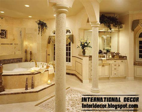 top 10 royal bathroom designs with luxurious accessories