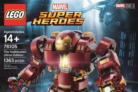 Original Kotobukiya Vs Hulkbuster Set lego marvel heroes the hulkbuster ultron edition set 76105 revealed jedi news