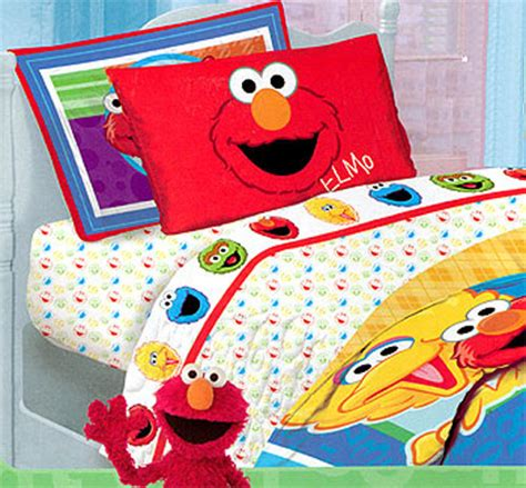 elmo bed bedding set with 1 flat sheet 1 fitted sheet 2n bedding