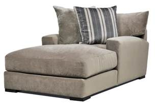 Indoor bedroominet double wide chaise lounge indoor with cushions