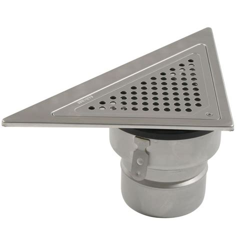Adjustable Shower Pan by Shower Drain Triangular Back Wall Adjustable Stainless