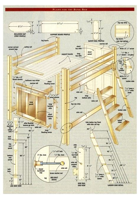 Bunk Bed With Stairs Plans Bunk Bed With Stairs Plans Free Project Bunk Bed Canadian Home Workshop Idea Design
