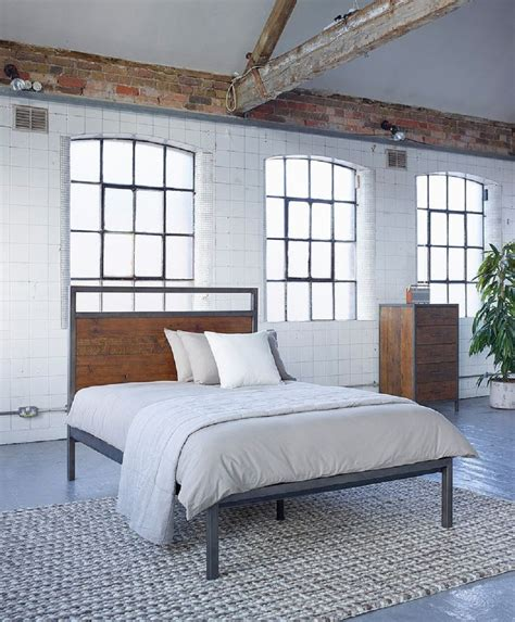 industrial style industrial style bedroom furniture homegirl
