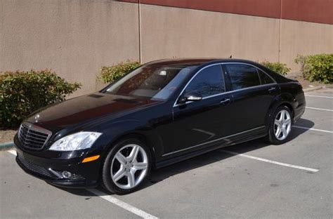 Mercedes S550 2007 by Buy Used 2007 Mercedes S550 Sport Sedan V8 5 5l With