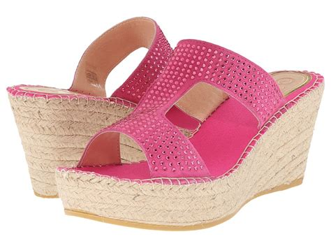 vidorreta fuchsia s wedge shoes