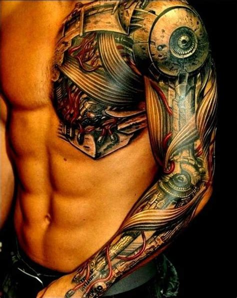 tatuajes biomec 225 nicos con increibles efectos 3d y