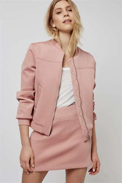 Topshops Pink Bomber by 17 Best Ideas About Bomber Jackets On