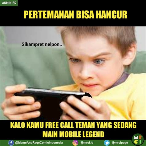 Mobile Meme - 12 meme mobile legend yang bikin anak game rela mantengin