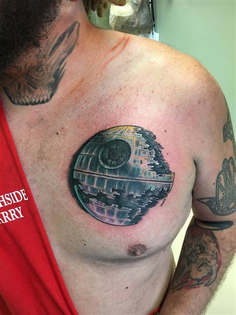 death star tattoo by cxsr9 on deviantart