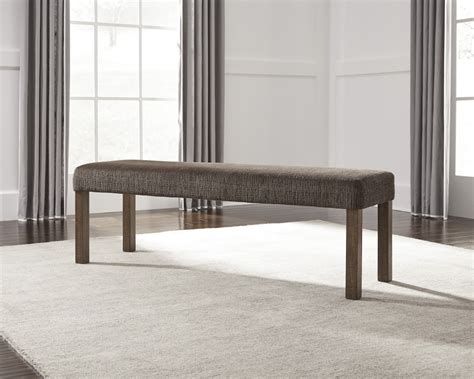 Grey Dining Room Bench Tamilo Gray Brown Large Uph Dining Room Bench D714