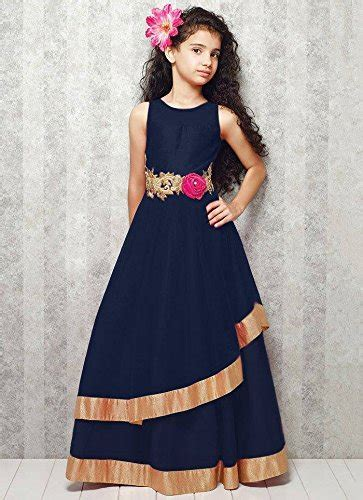 26 Embro Navy new arrival designer navy blue softnet partywear gown in clothing accessories