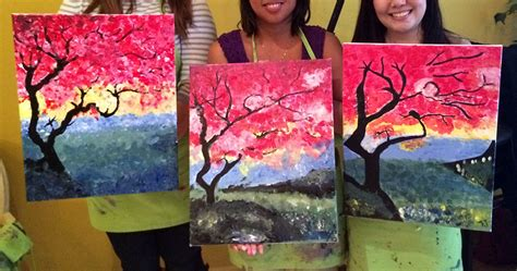 groupon paint nite las vegas painting with wine classes best painting 2018