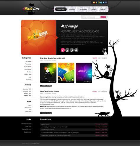 free wordpress themes design studio design studio wordpress theme 27859