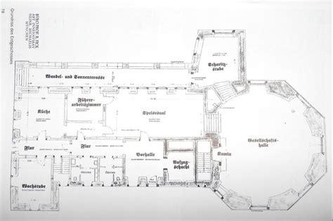 berghof floor plan original ground floor plans das kehlsteinhaus