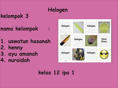 design powerpoint kimia ppt kimia halogen powerpoint presentation id 2090405