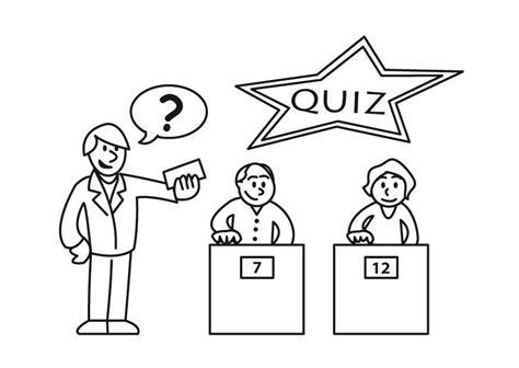 Drawing Quiz by Dibujo Para Colorear Concurso Quiz Img 23347