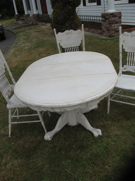 Round Dining Room Tables With Leaves Distressed Dining Set Ladybird S Vintage