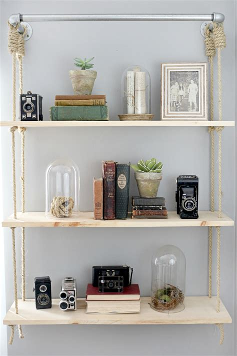Hanging Wall Shelves Hanging Shelves Diy