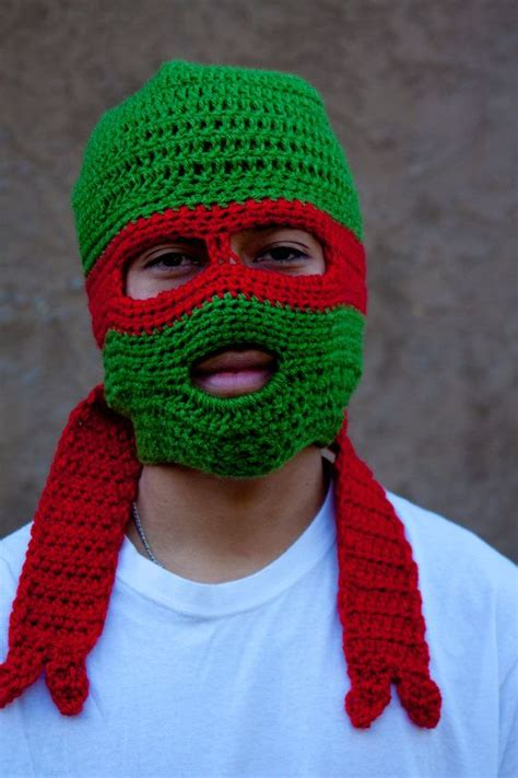 crochet pattern ninja turtle mask 330 best images about knits characters on pinterest