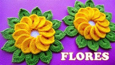 imagenes de flores tejidas a crochet tejidos milagros ena flores tejidas a crochet de 12