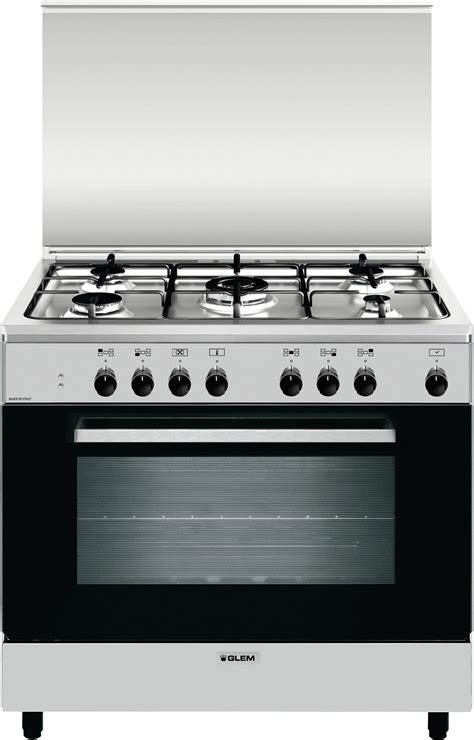 cucine a gas 5 fuochi glem gas cucina a gas 5 fuochi forno elettrico ventilato