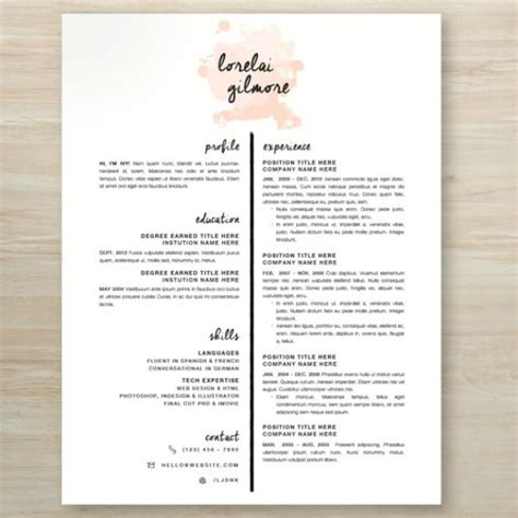 pretty resume template 10 lustworthy resume designs we need now