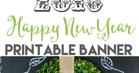 printable new years banner 2016 new years eve 2016 printable banner new years eve 2016