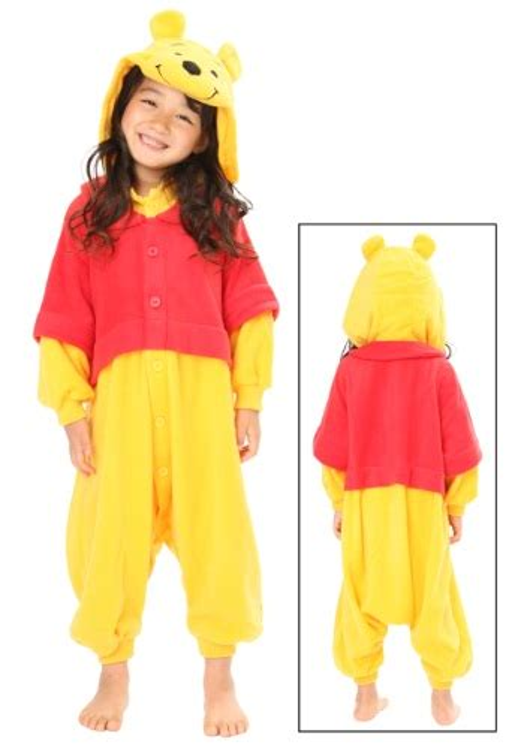 Piyama Winnie The Pooh Friends pooh pajama costume