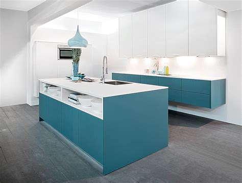 schwebende küche wohnung modern renovieren