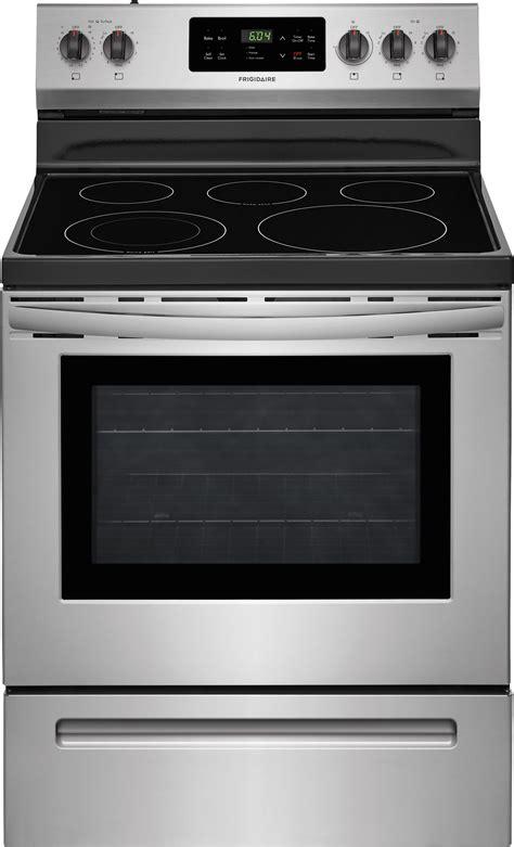 Oven Cooktop - frigidaire ffef3054ts 30 quot freestanding electric range