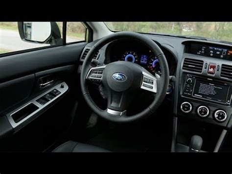 2013 subaru crosstrek interior 2014 subaru crosstrek hybrid interior review youtube