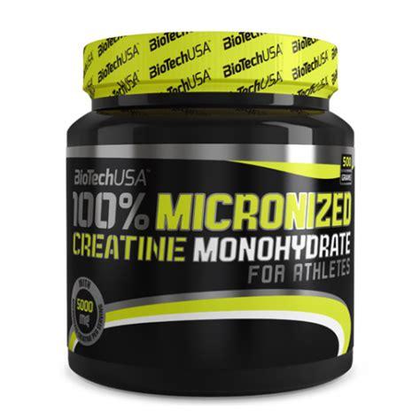 p p creatine monohydrate biotech usa 100 micronized creatine monohydrate por