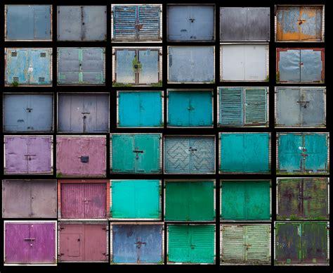 colorful doors colorfulgaragedoorsphotography4 fubiz media