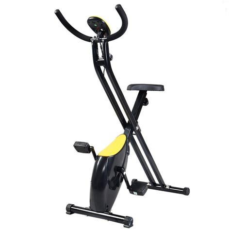 foldable exercise bike compact indoor cycling home workout