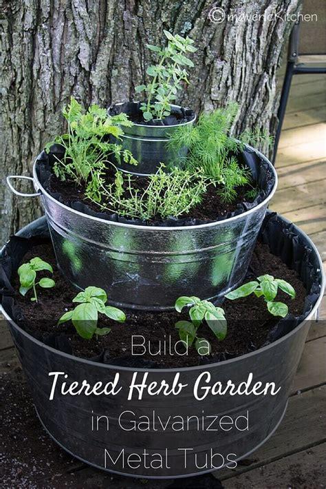 exclusive fountain  herbs diy herb gardening  tiered