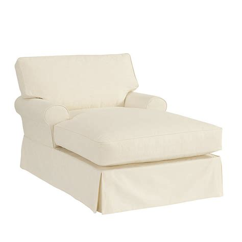 Slipcover For With Chaise by Davenport Chaise Slipcover Special Order Fabrics