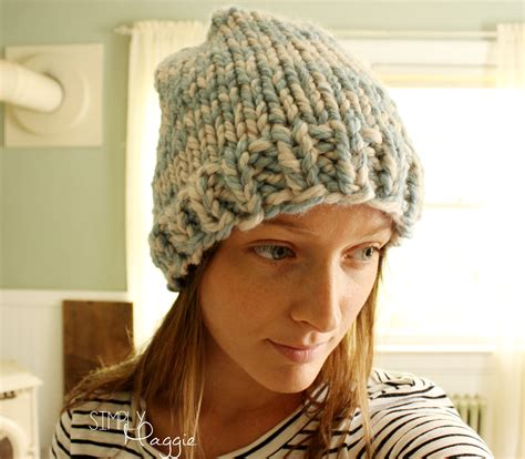 knitting patterns for beanies with needles basic knit beanie simplymaggie