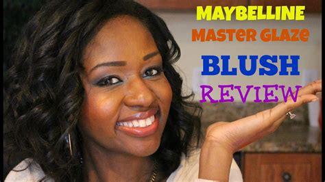 Maybelline Myb V Blush On maybelline master glaze blush review