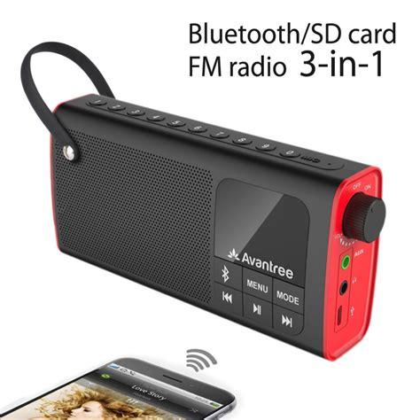 aliexpress buy avantree portable speaker 3 in 1 bluetooth fm radio sd card player outdoor