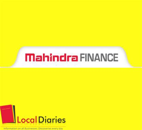 mahindra finance car loan review finance company in chandigarh personal financing