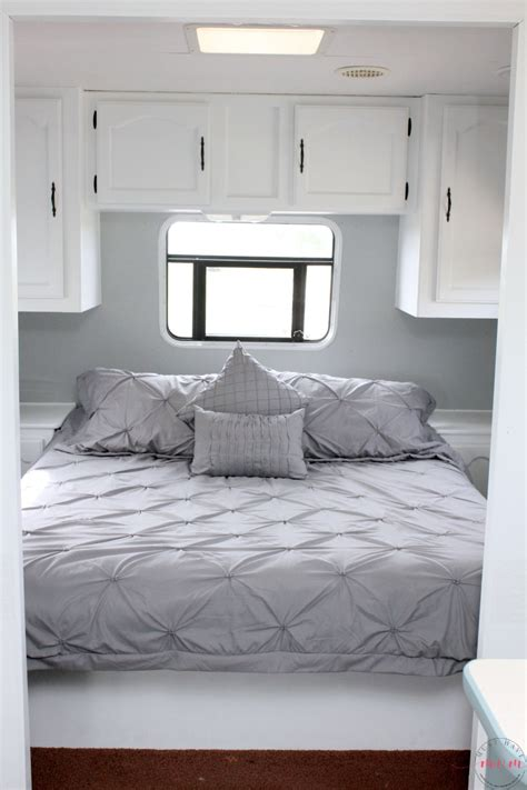 steps to redoing a bedroom easy rv remodeling instructions rv makeover reveal