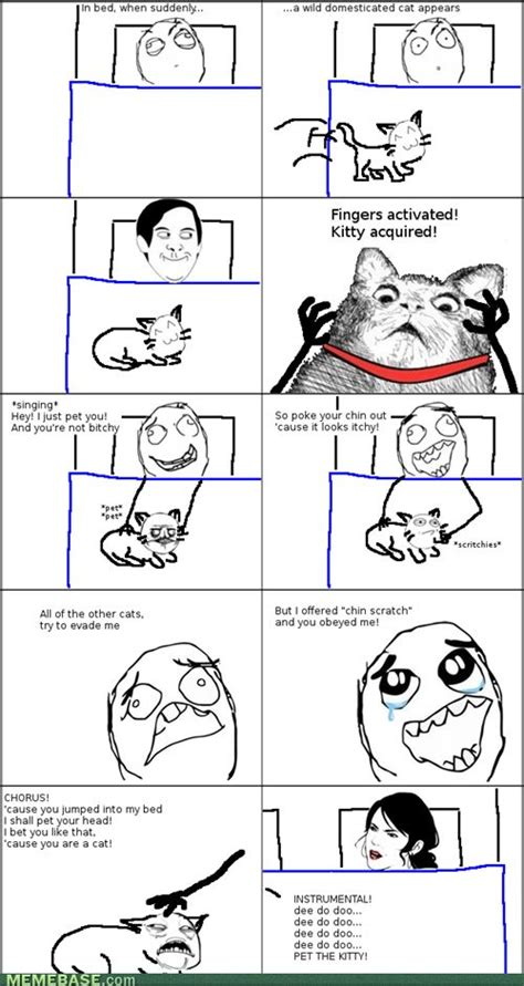 Meme Rage Comics - internet memes rage comics i just pet you and you were