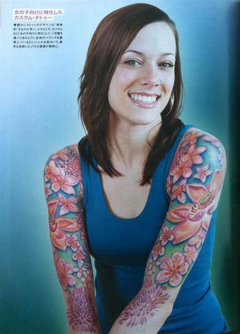 tattoo girl magazine japan wortman japan tattoo burst magazine 2011 page 3 by