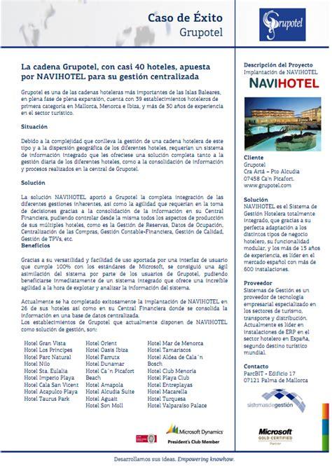 cadenas hoteleras vacacionales software hotel navihotel es el software de gestion para