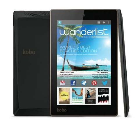 kobo for android kobo arc 7hd android tablet gadgetsin