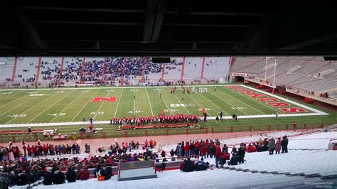 Section 8 Lincoln Ne by Memorial Stadium Nebraska Section 5 Rateyourseats